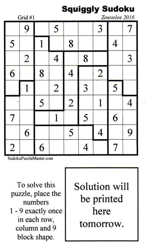 photo about Chicago Tribune Daily Sudoku Printable known as Pubishers connection